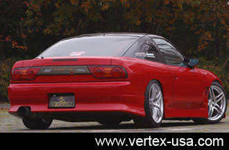 VERTEX STYLE , AFTERMARKET , FIBREGLASS , REAR BAR , 180SX
