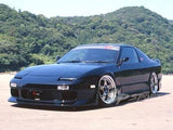 Gp Sports - G 4 , Style Aftermarket , Fibreglass , Side Skirts , S13 SILVIA / 180sx .