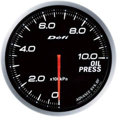 Defi Link Advance BF Series , Oil Pressure Meter / Gauge .