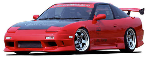 Gp Sports - G Sonic Style , Aftermarket , Fibreglass , Front Bar , 180sx
