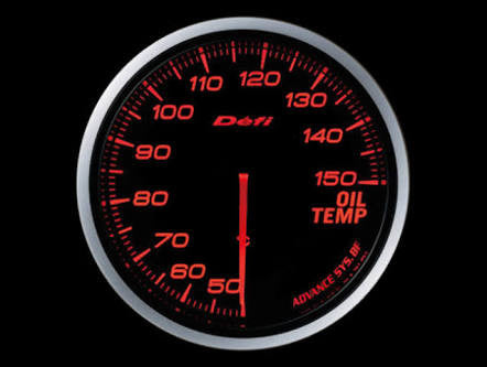 Defi Link Advance Bf Series , Oil Temperture Meter / Gauge .