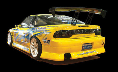 Bn Sports Style , Aftermarket , Fibreglass Rear Bar , 180sx