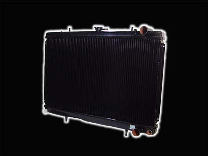 GENUINE KOYO , AFTERMARKET , RADIATOR , TYPE R , 3 LAYER , 41-49MM , S13 SILVA / 180SX , SR20DET