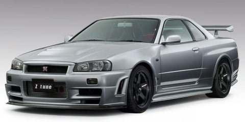 Z Tune Style , Aftermarket , Fibreglass / Carbon Fibre , Side Skirts , Nissan R34 Skyline Gt-r