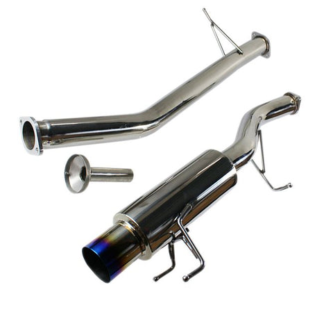 "Dri 3"" Stainless Steal Cat Back Exhaust System-R32 Skyline Gts-t-Blue Tip"