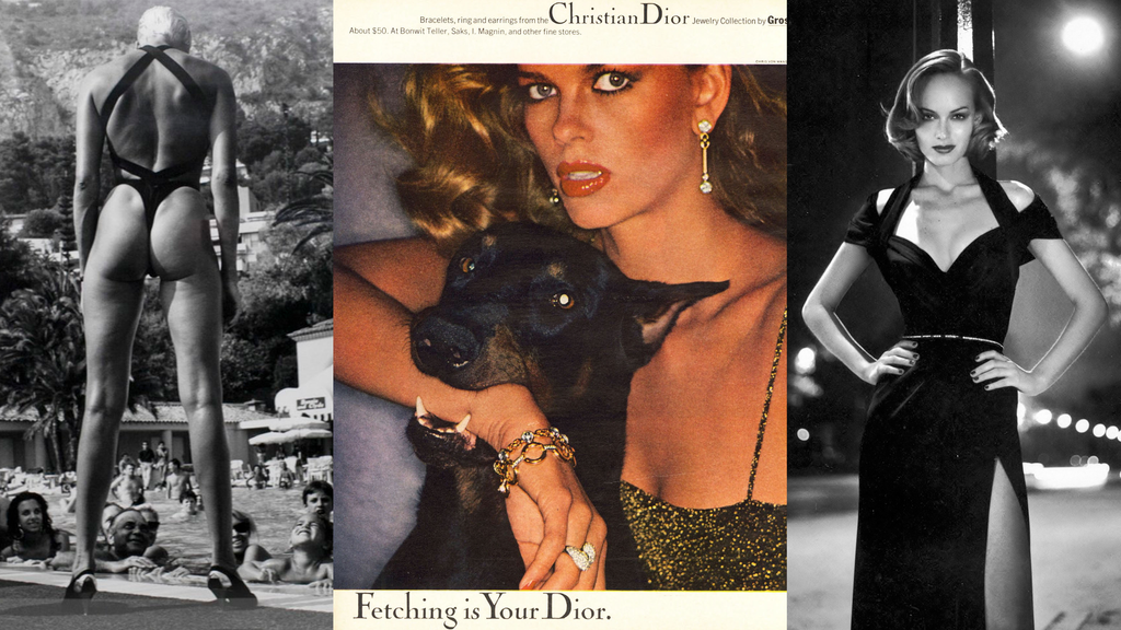 Helmut Newton and Dior