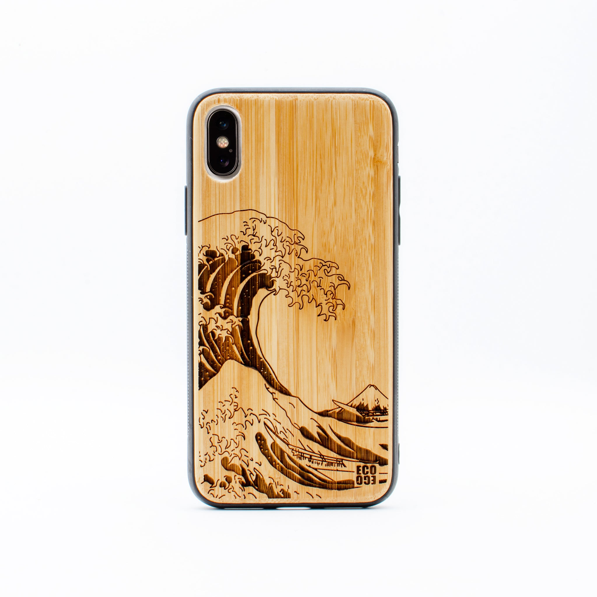 bamboo iphone x case nami ecoego