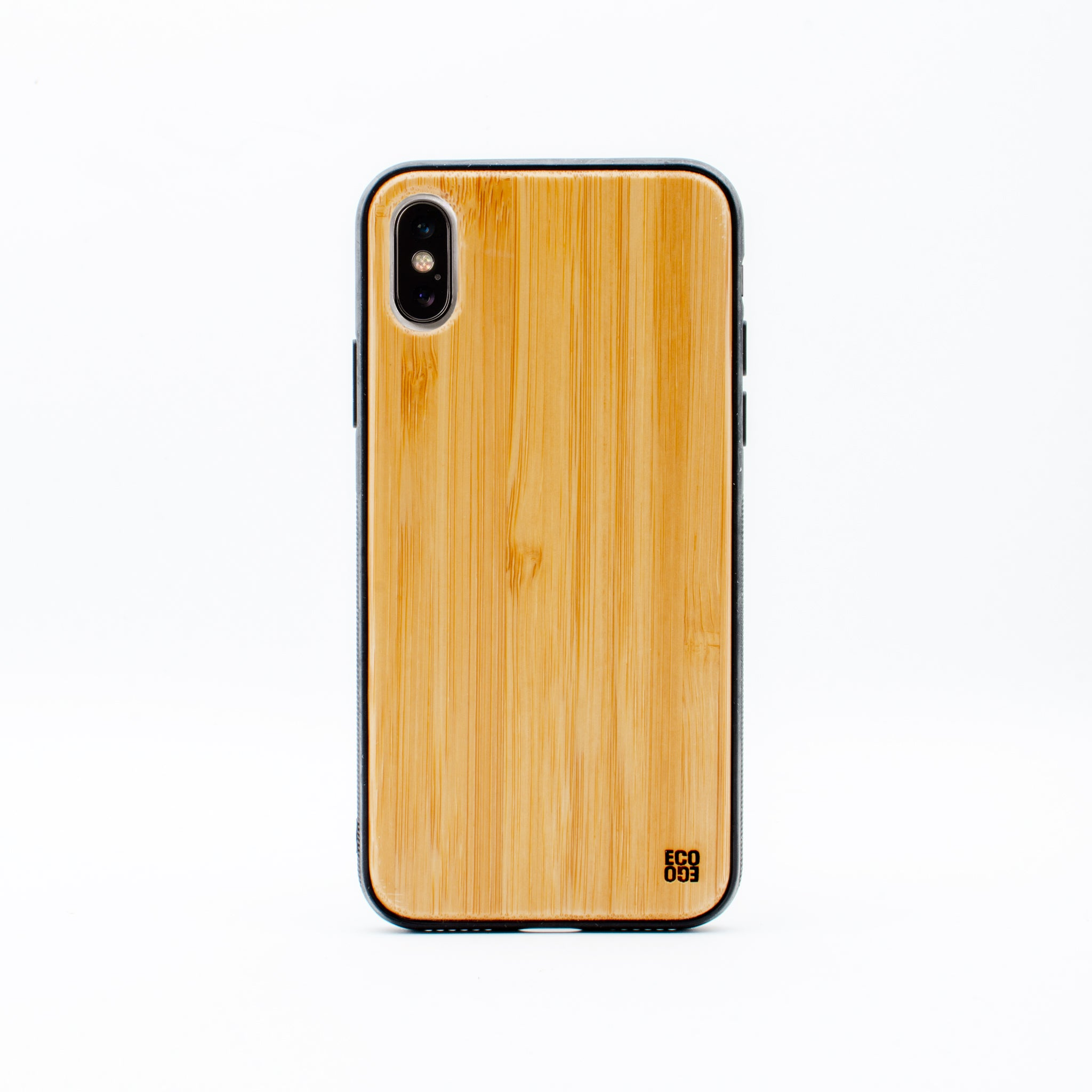 bamboo iphone x case bamboo plain ecoego