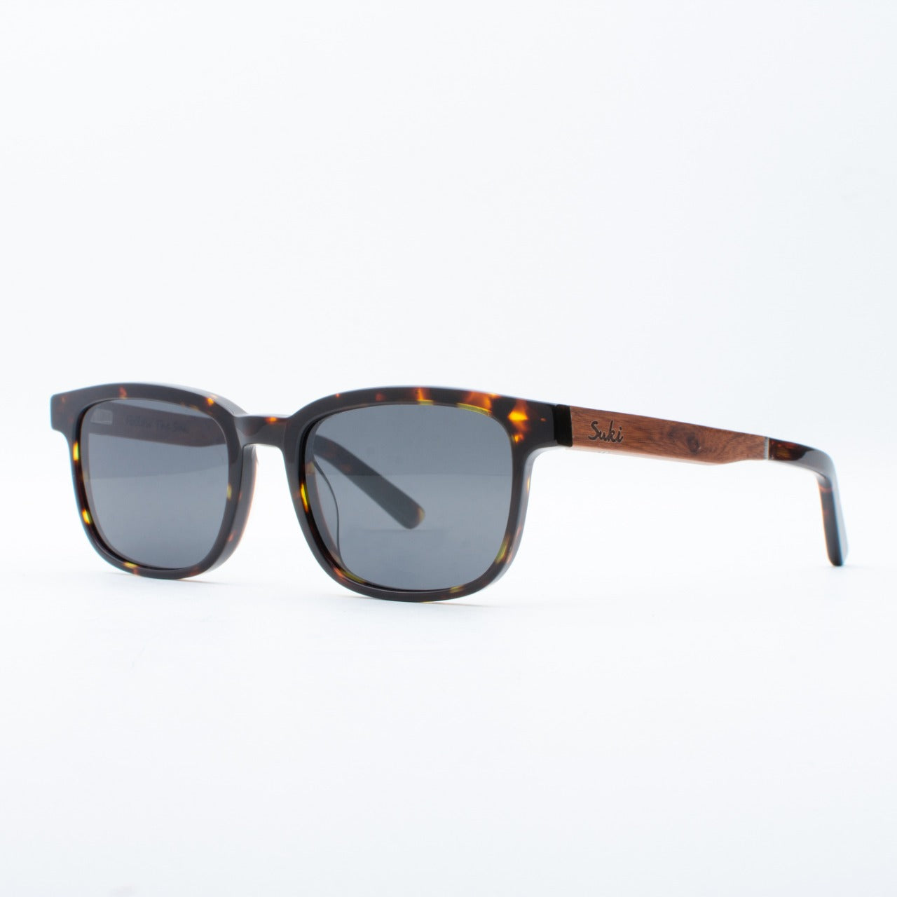 WOODEN SUNGLASSES GALIH TORTOISE SUKI