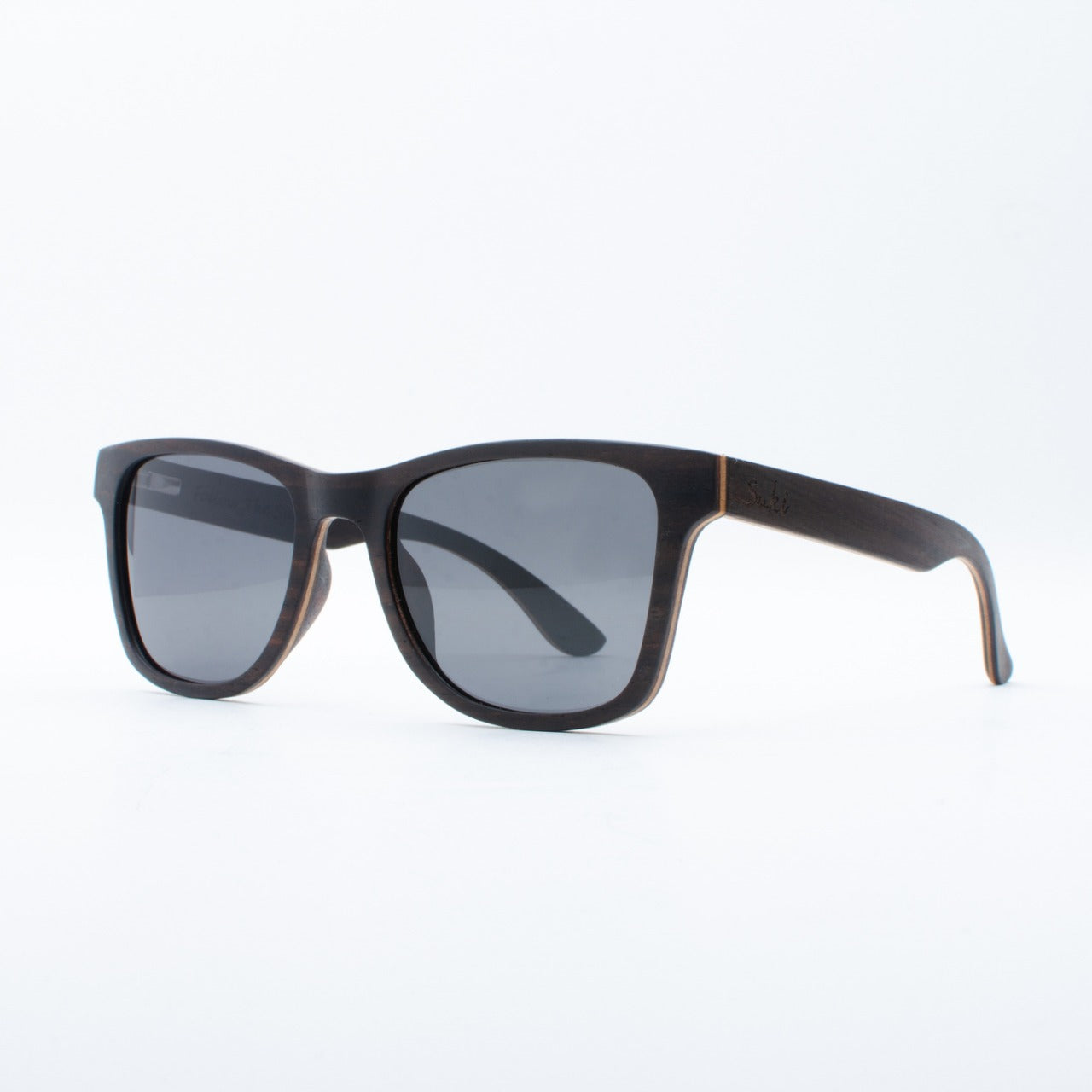WOODEN SUNGLASSES JOGJA EBONY SUKI LEFT