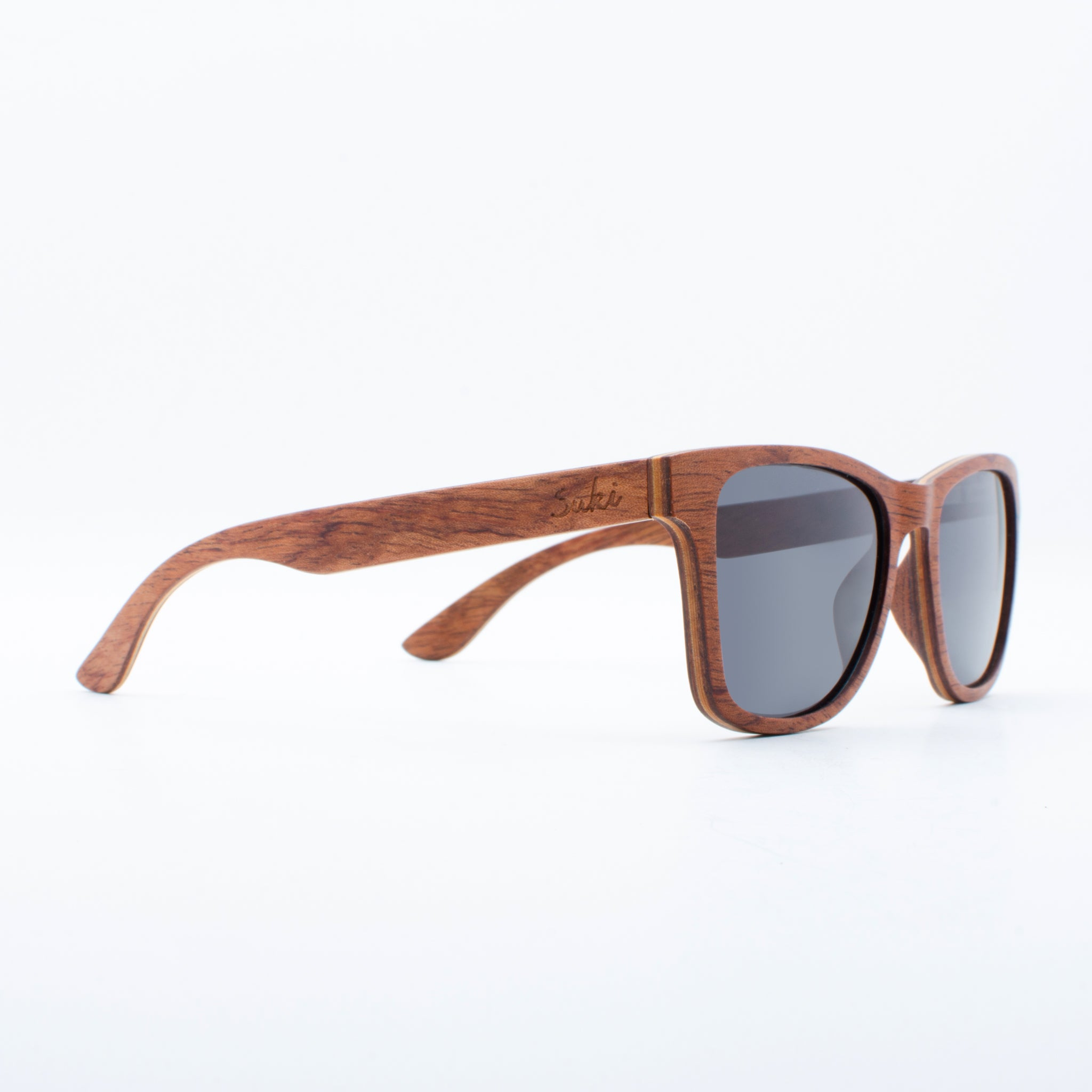 WOODEN SUNGLASSES JOGJA RED BURY SUKI RIGHT