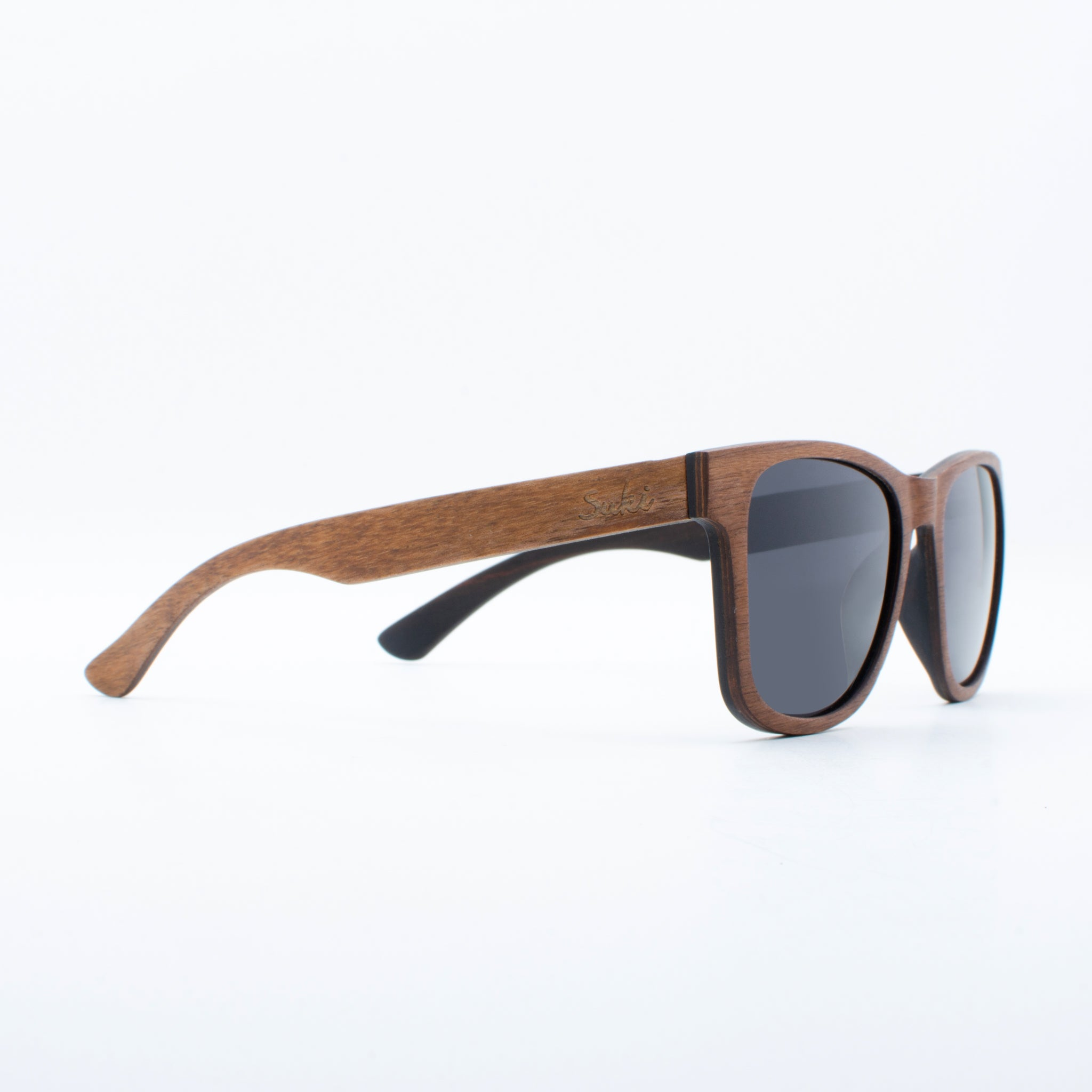 WOODEN SUNGLASSES JOGJA WALNUT SUKI RIGHT