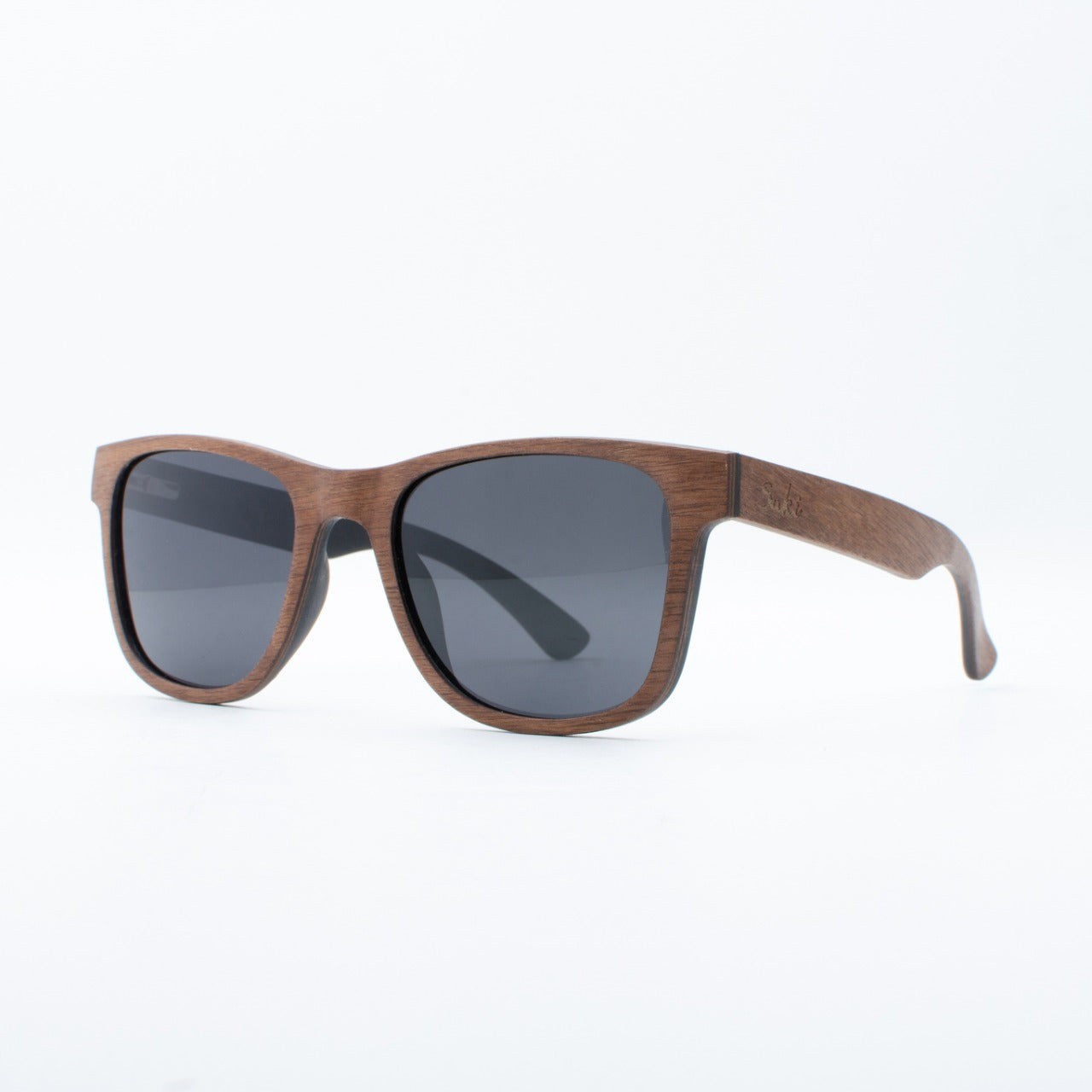 WOODEN SUNGLASSES JOGJA WALNUT SUKI LEFT