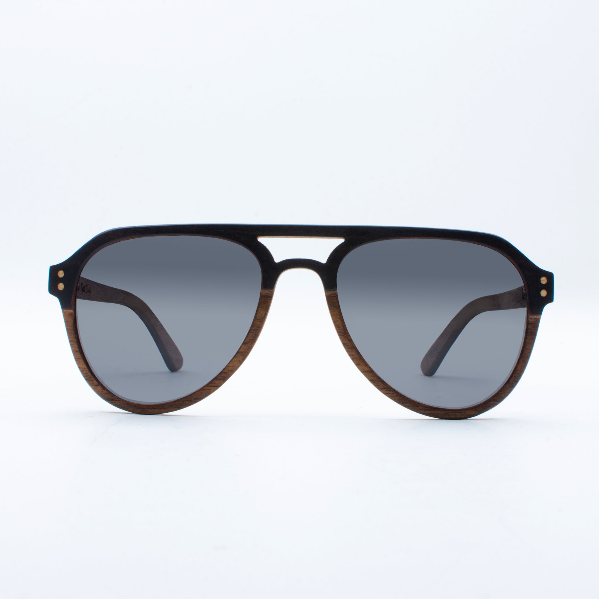 WOODEN SUNGLASSES KAYOA EBONY WALNUT SUKI