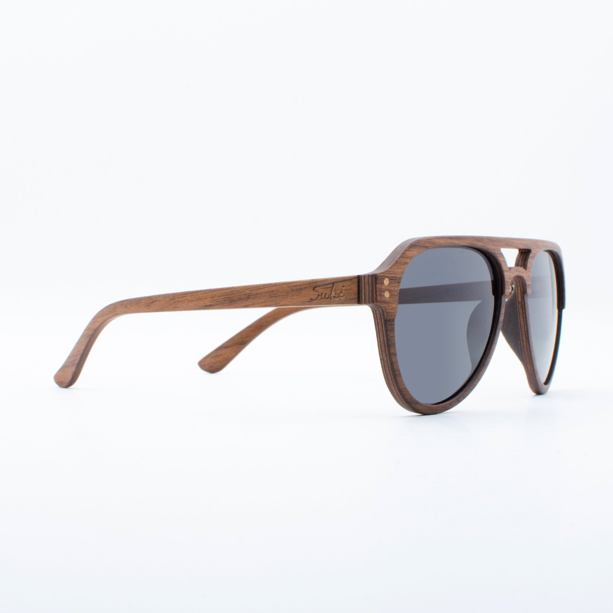 WOODEN SUNGLASSES KAYOA WALNUT SUKI
