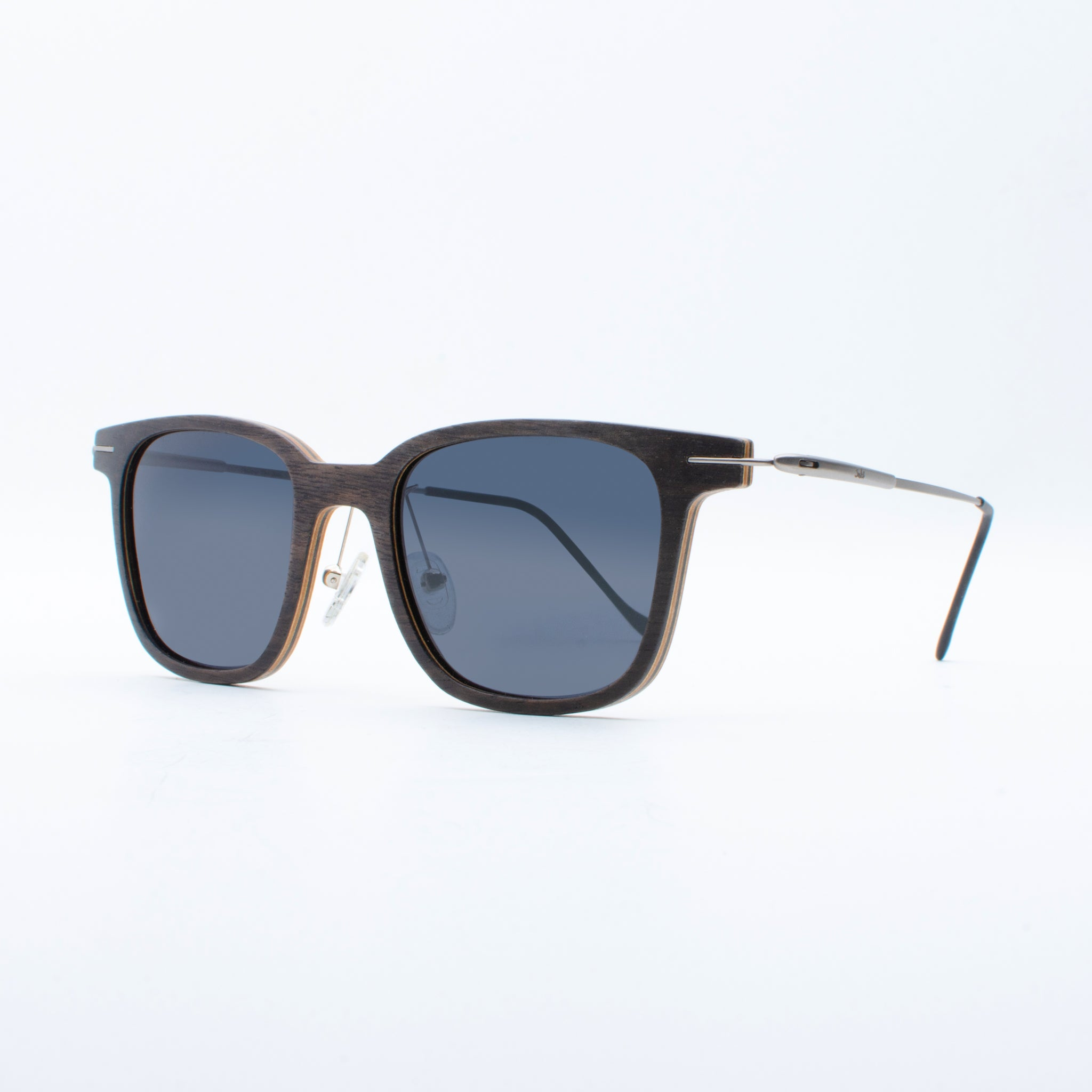 WOODEN SUNGLASSES KELIMUTU EBONY SUKI