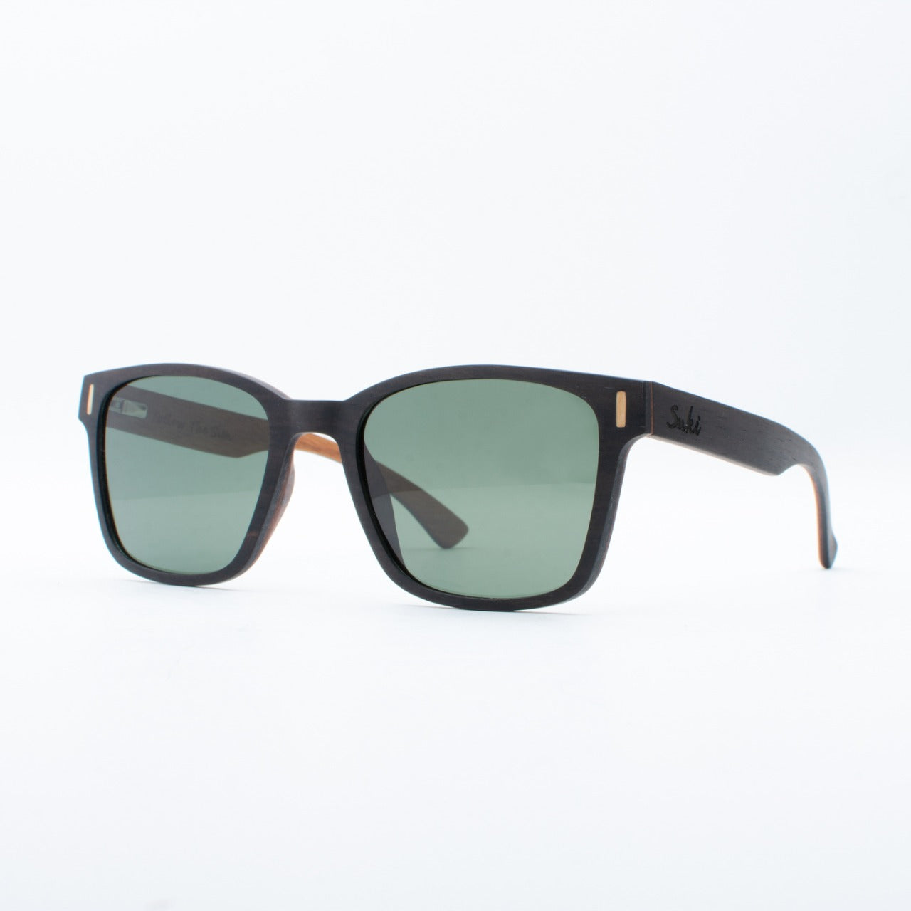 WOODEN SUNGLASSES KINTAMANI EBONY SUKI