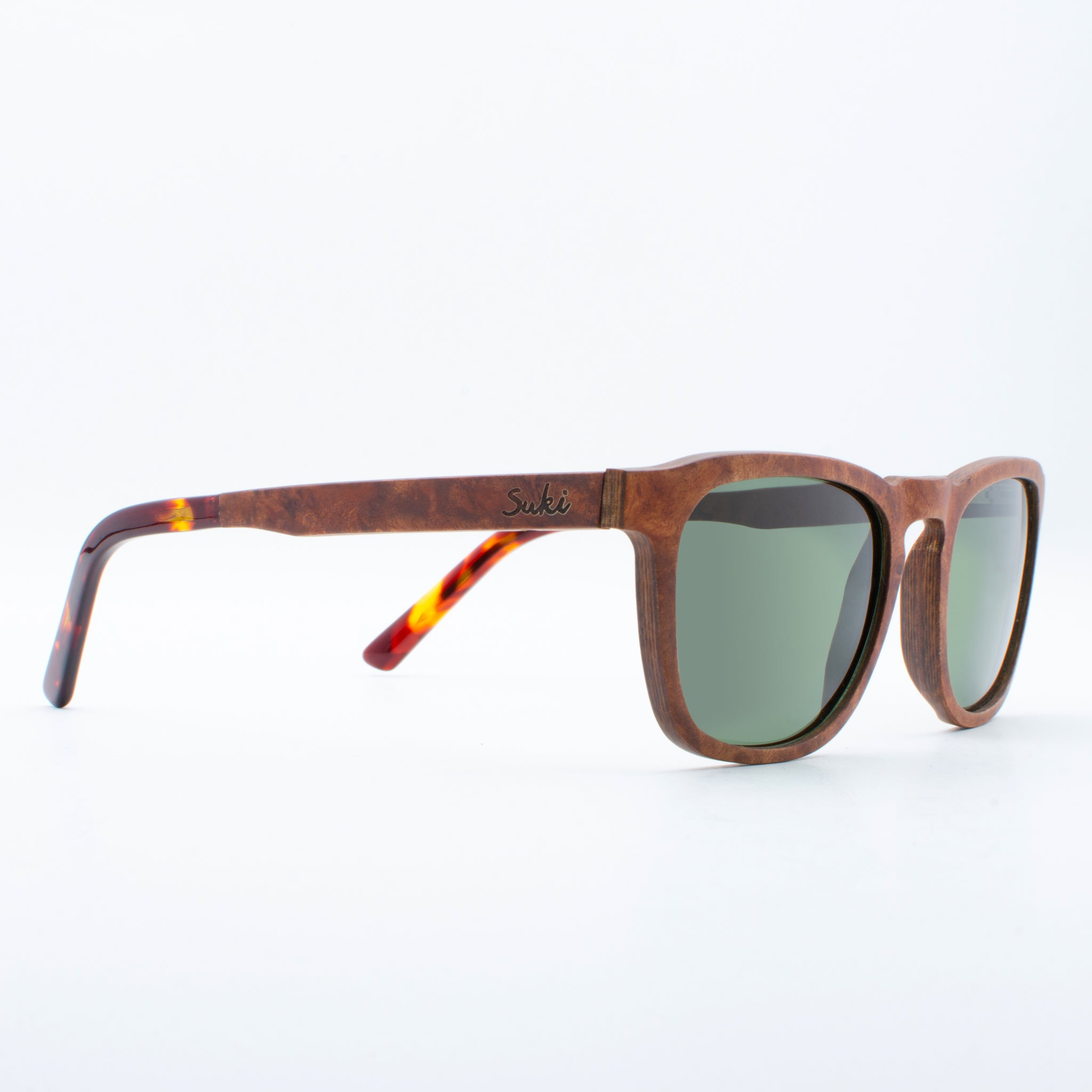 WOODEN SUNGLASSES RAU VENNER RED SUKI
