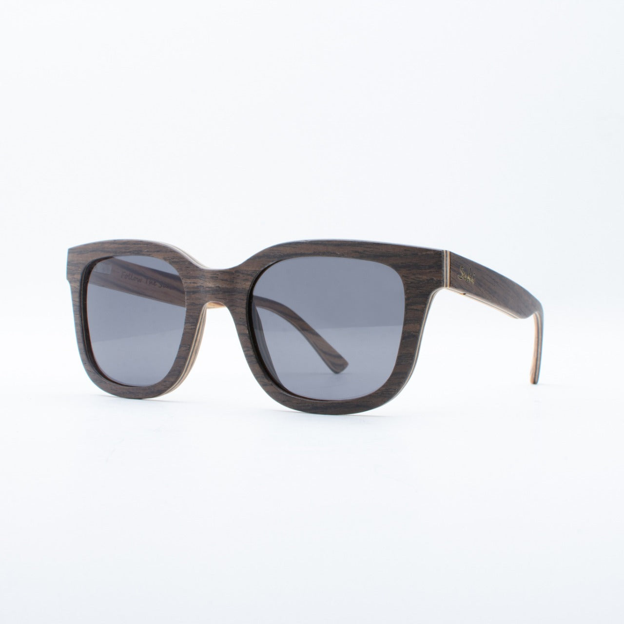 WOODEN SUNGLASSES SENTANI EBONY SUKI