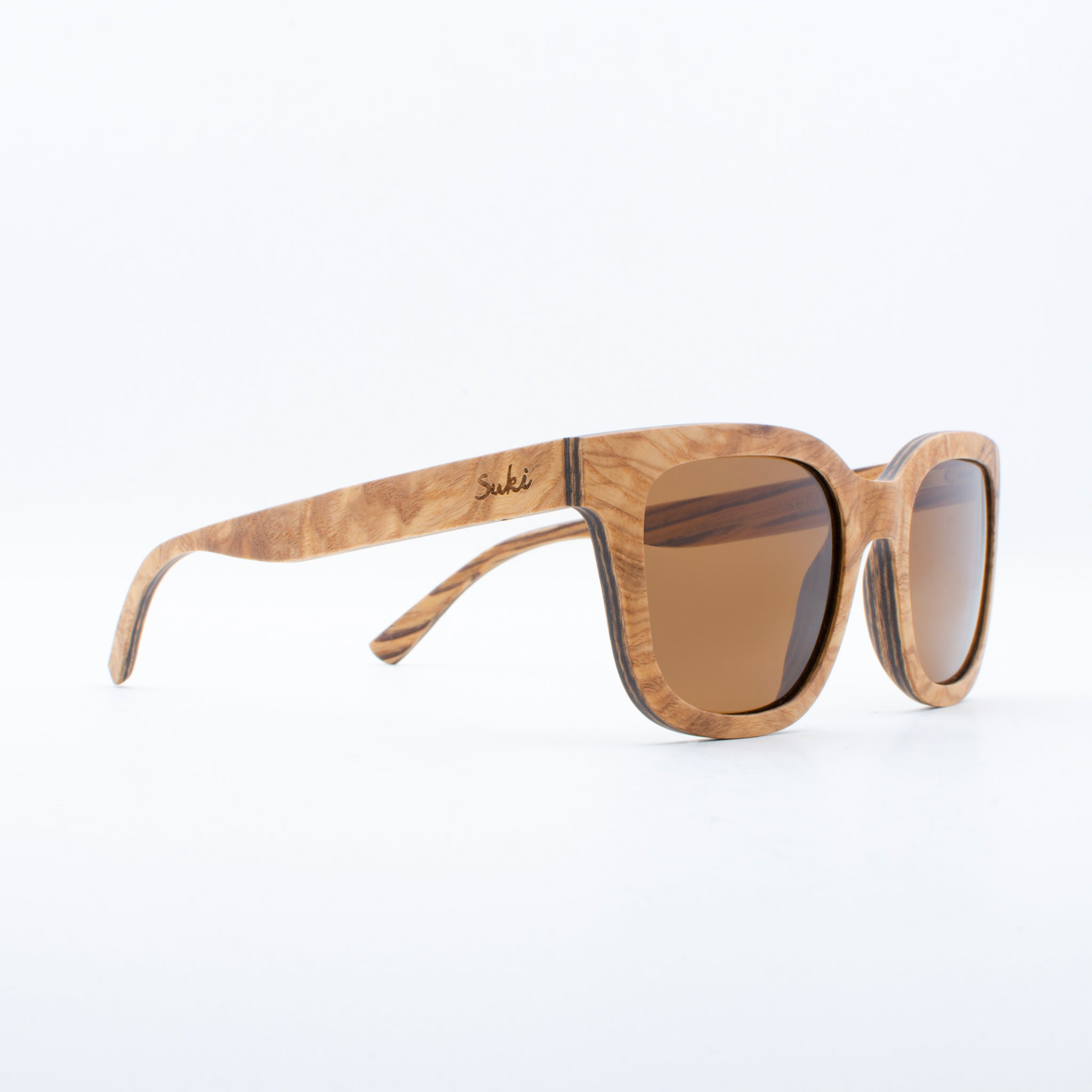 WOODEN SUNGLASSES SENTANI MAPLE SUKI