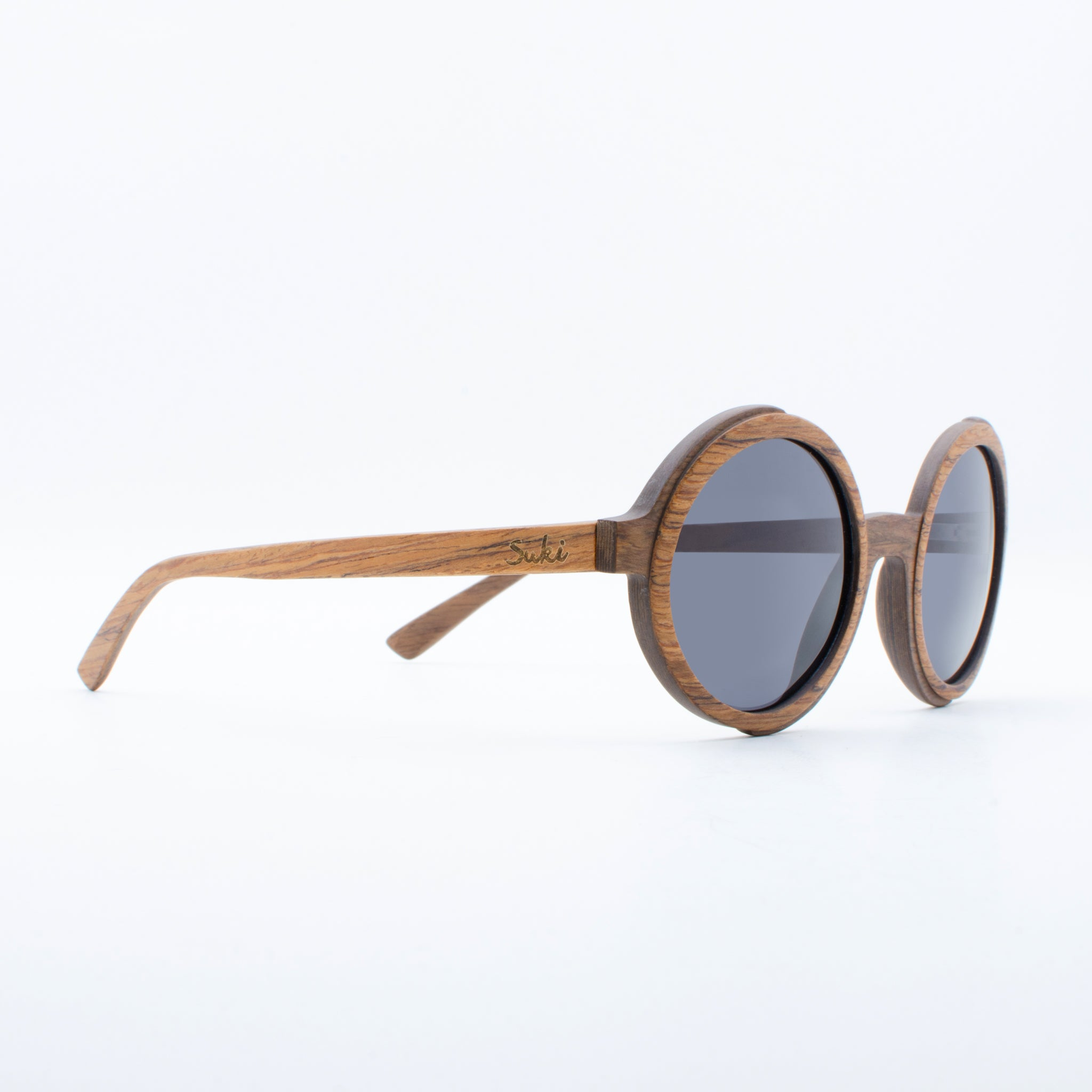 WOODEN SUNGLASSES TANA ROSEWOOD BROWN SUKI