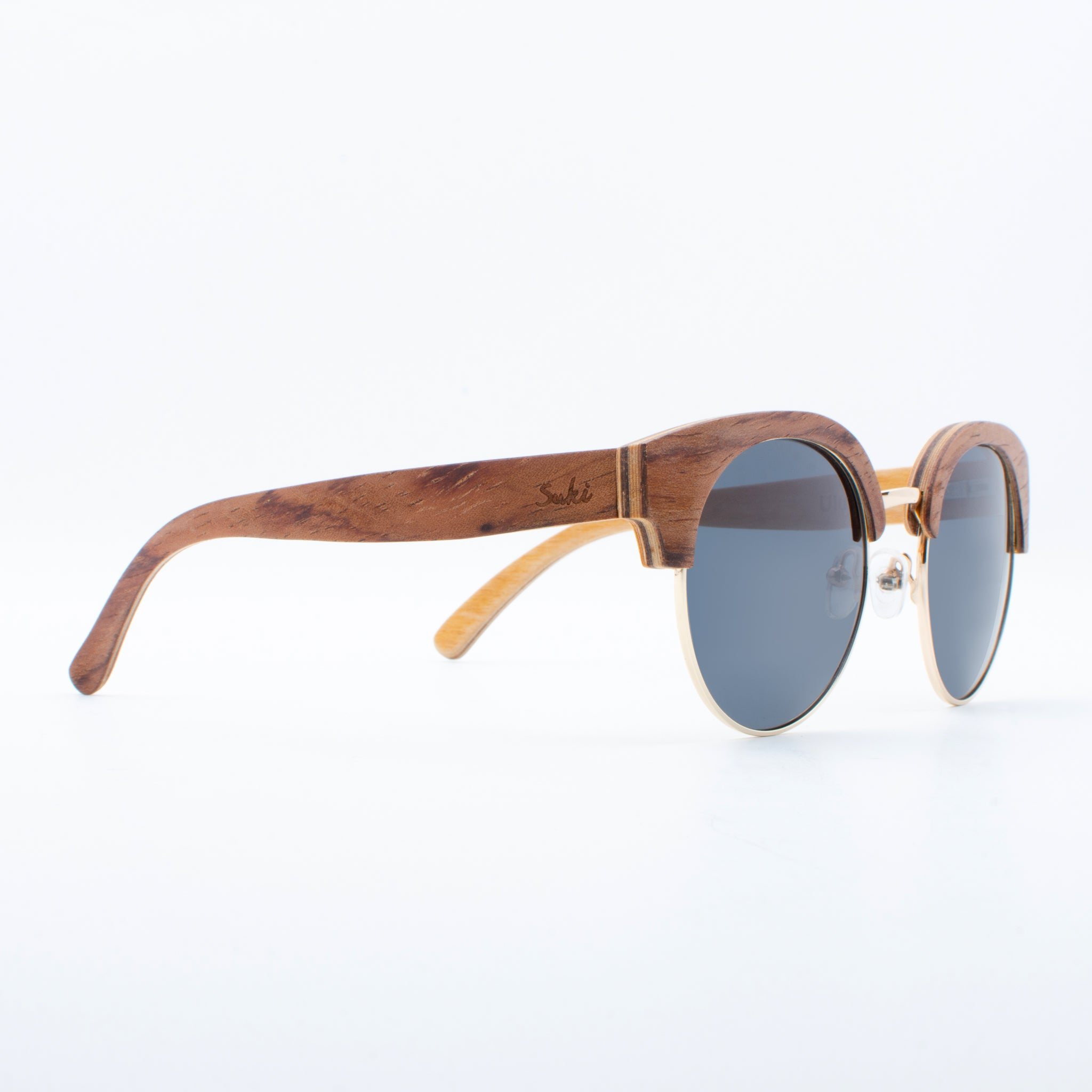 WOODEN SUNGLASSES ULUWATU RED BURY SUKI