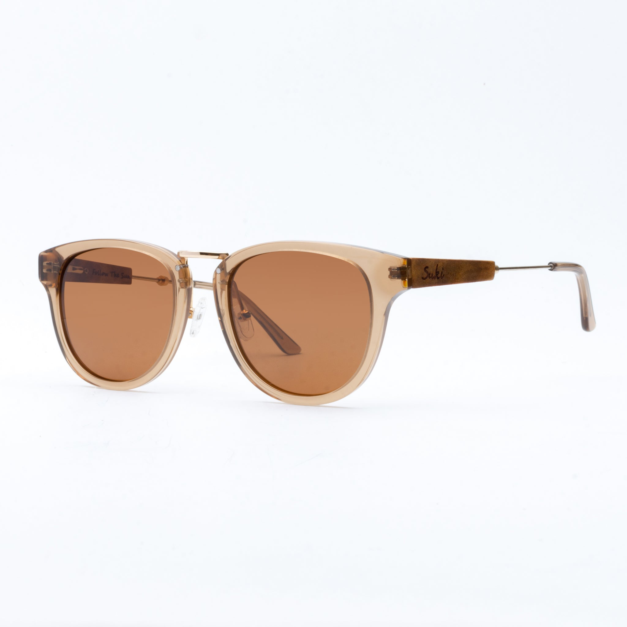 Wooden Sunglasses Kila Brown Suki