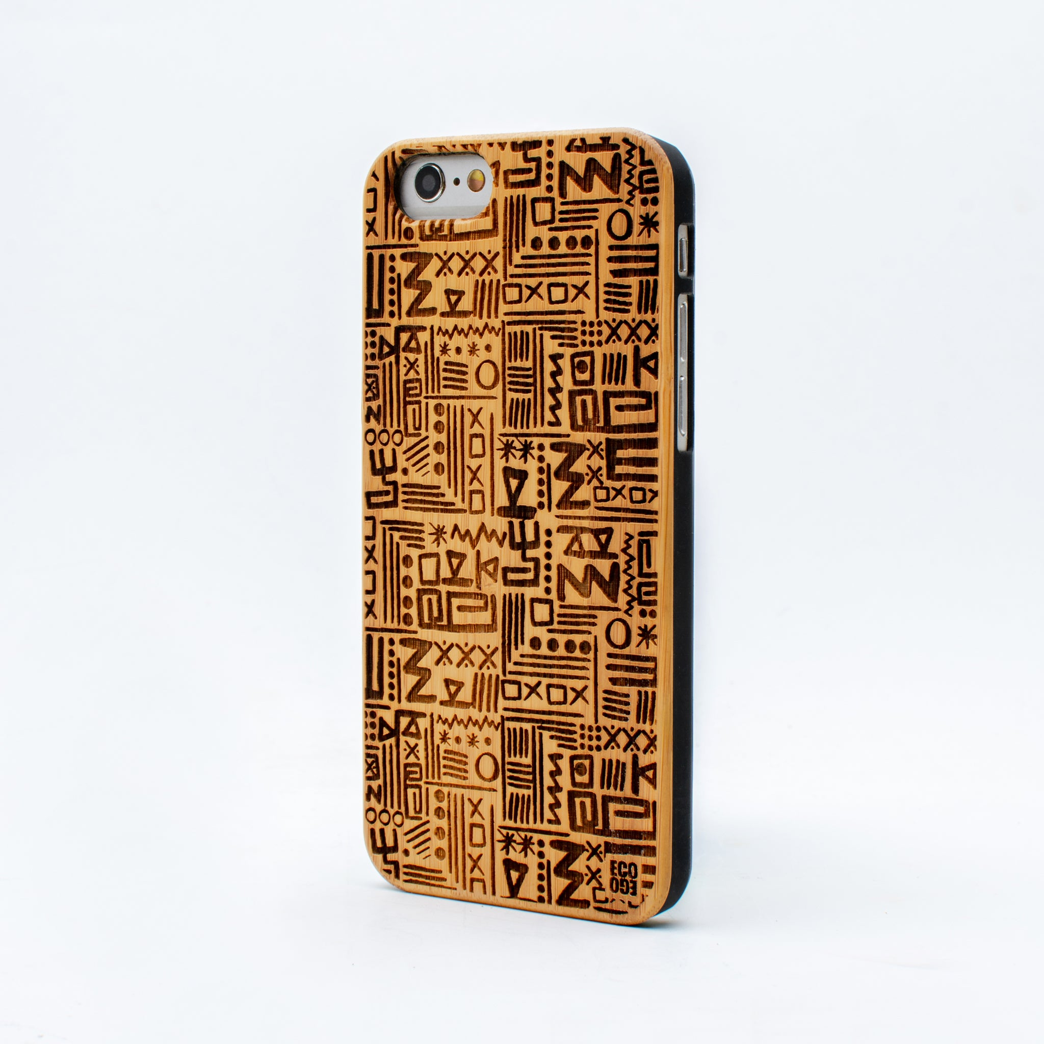 bamboo iphone 6 case aztec ecoego