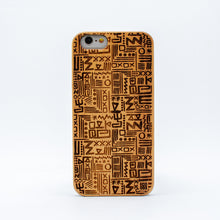 Load image into Gallery viewer, bamboo iphone 6 case aztec ecoego