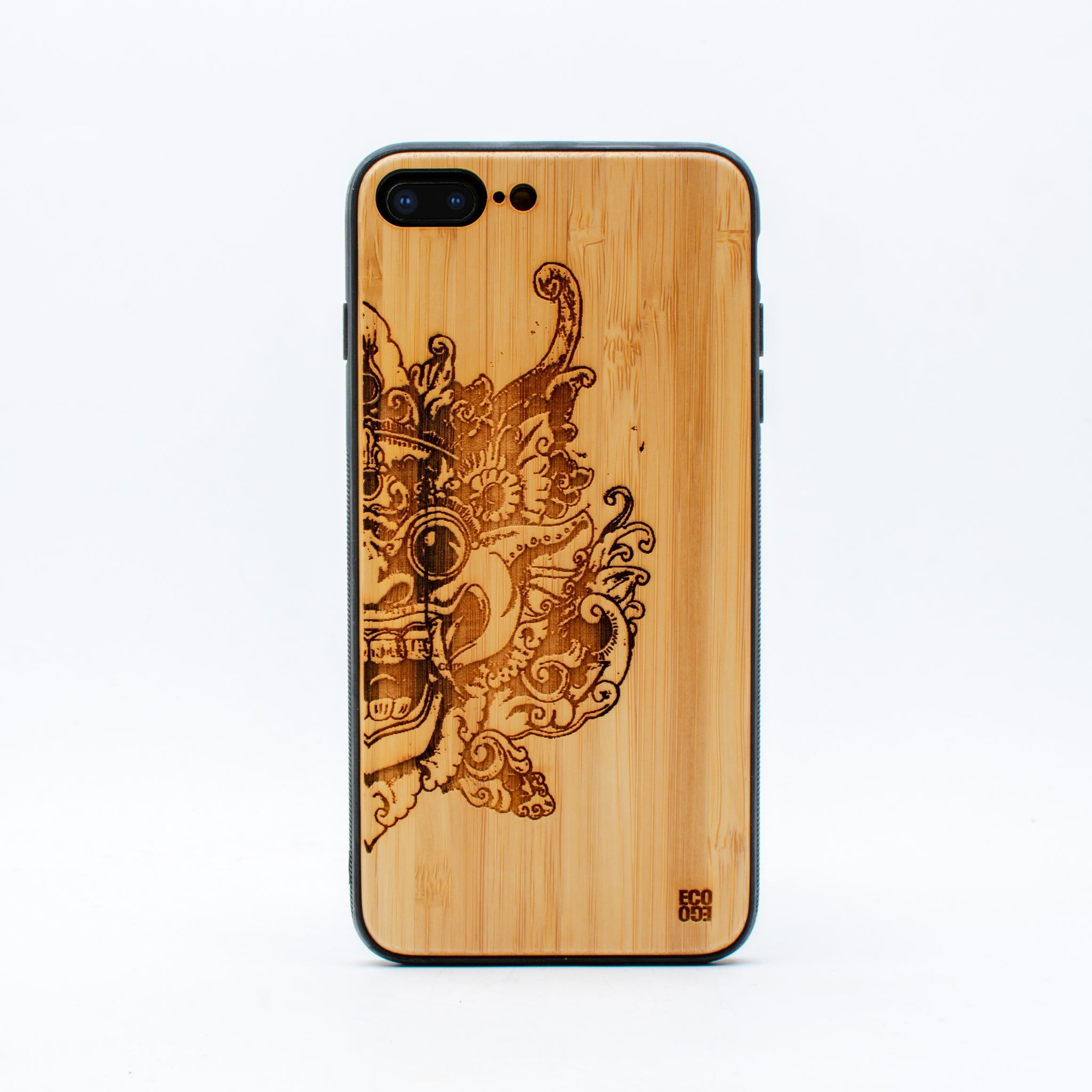 bamboo iphone 7+ case barong ecoego