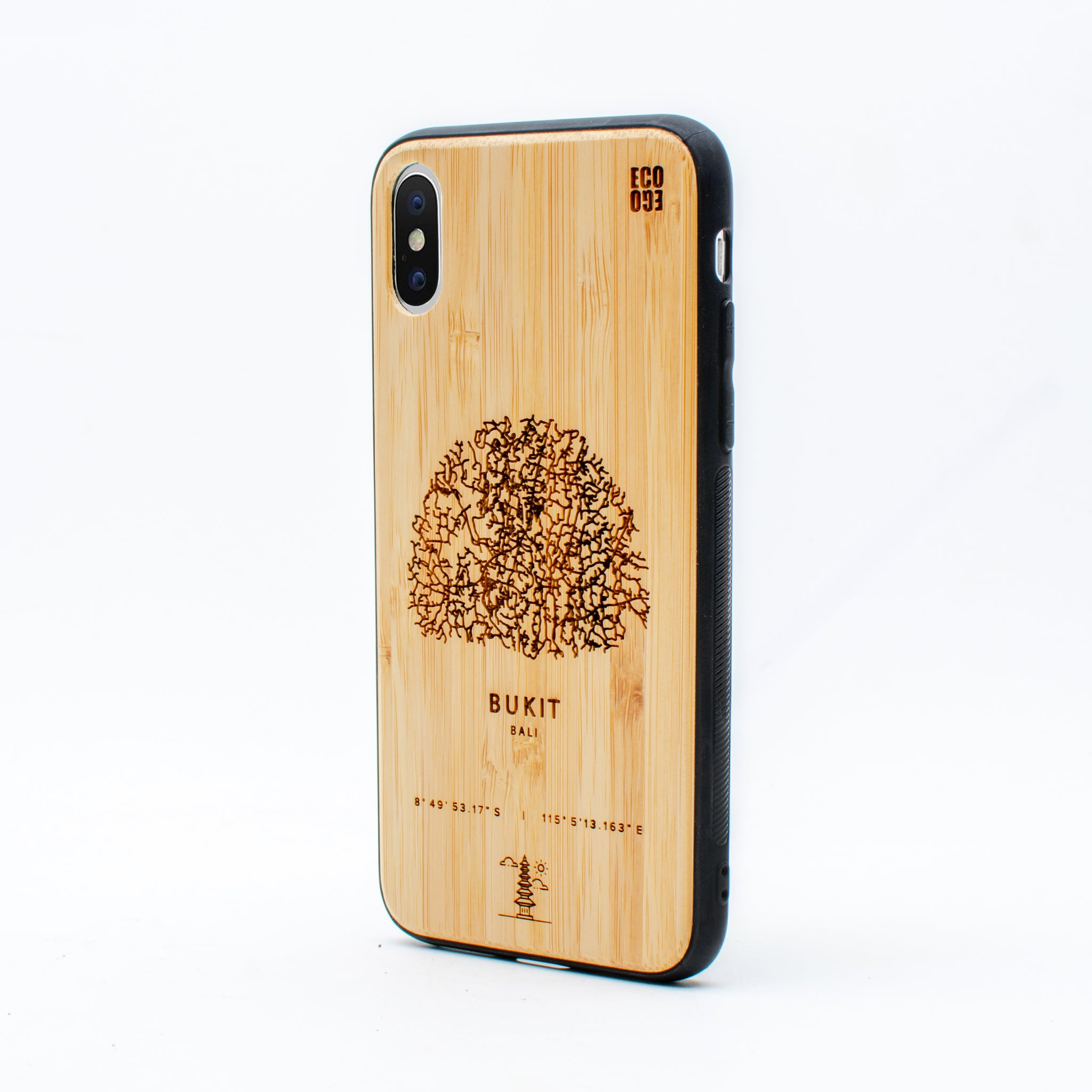 bamboo iphone x case bukit ecoego