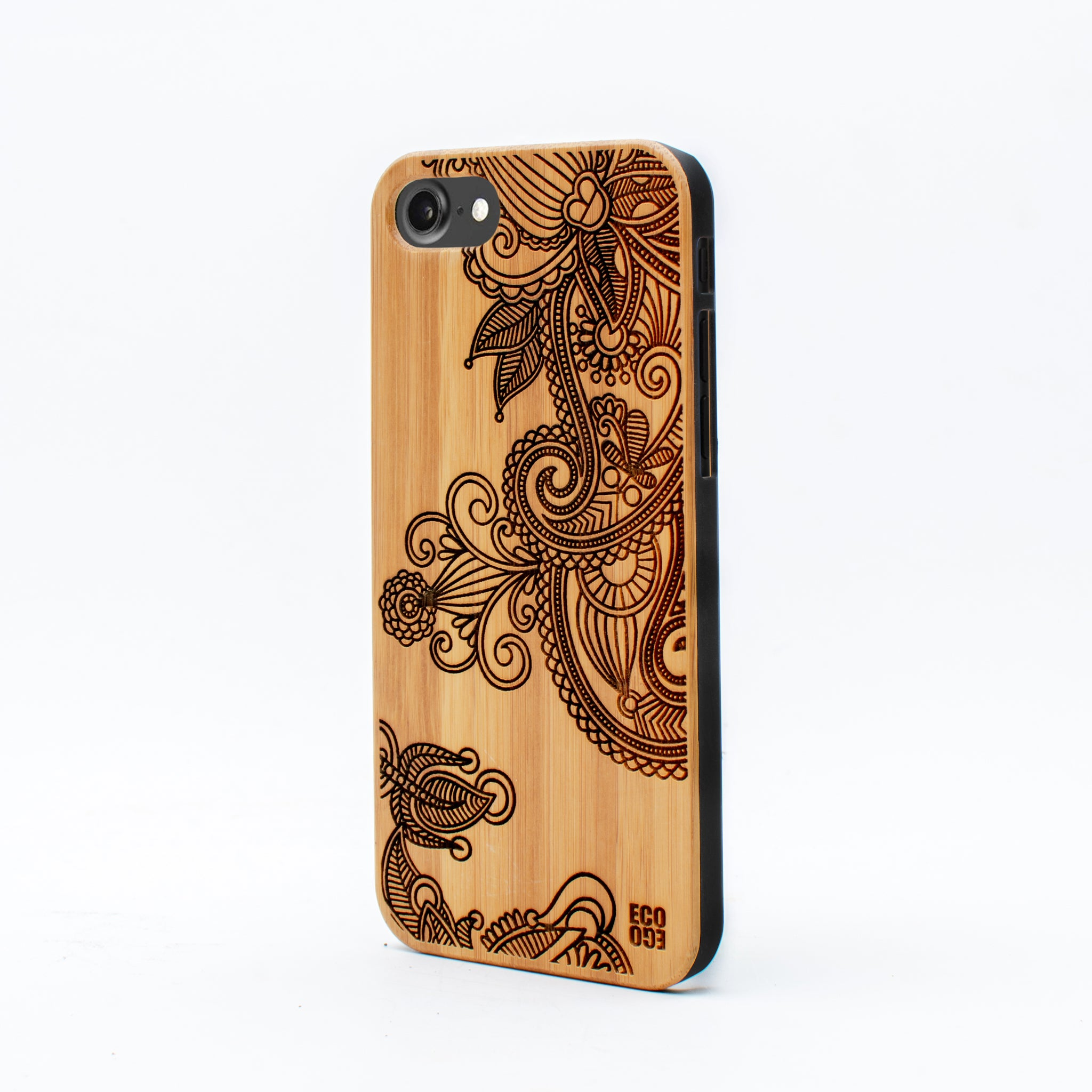 bamboo iphone 7 case flower ecoego