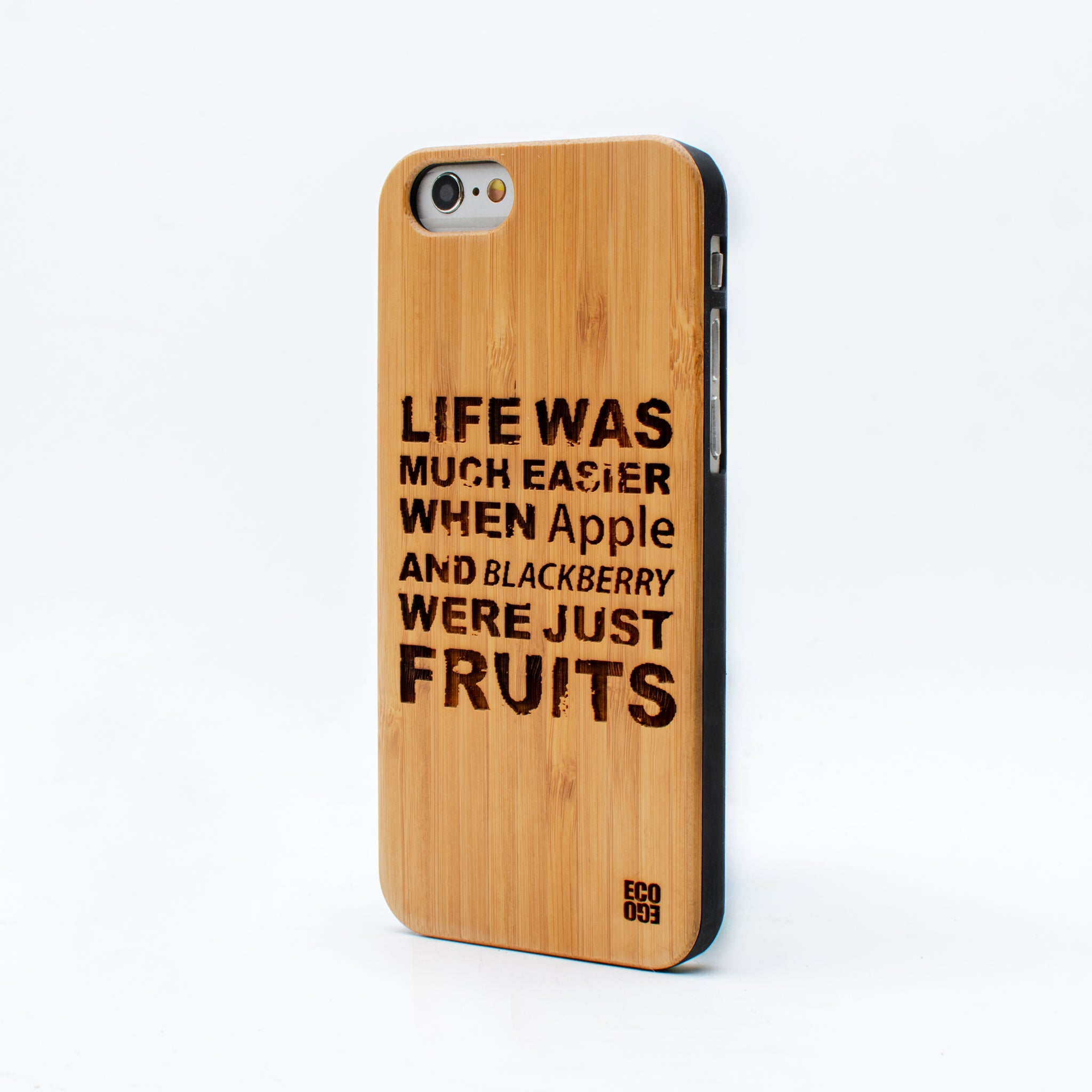 bamboo iphone 6 case life was ecoego