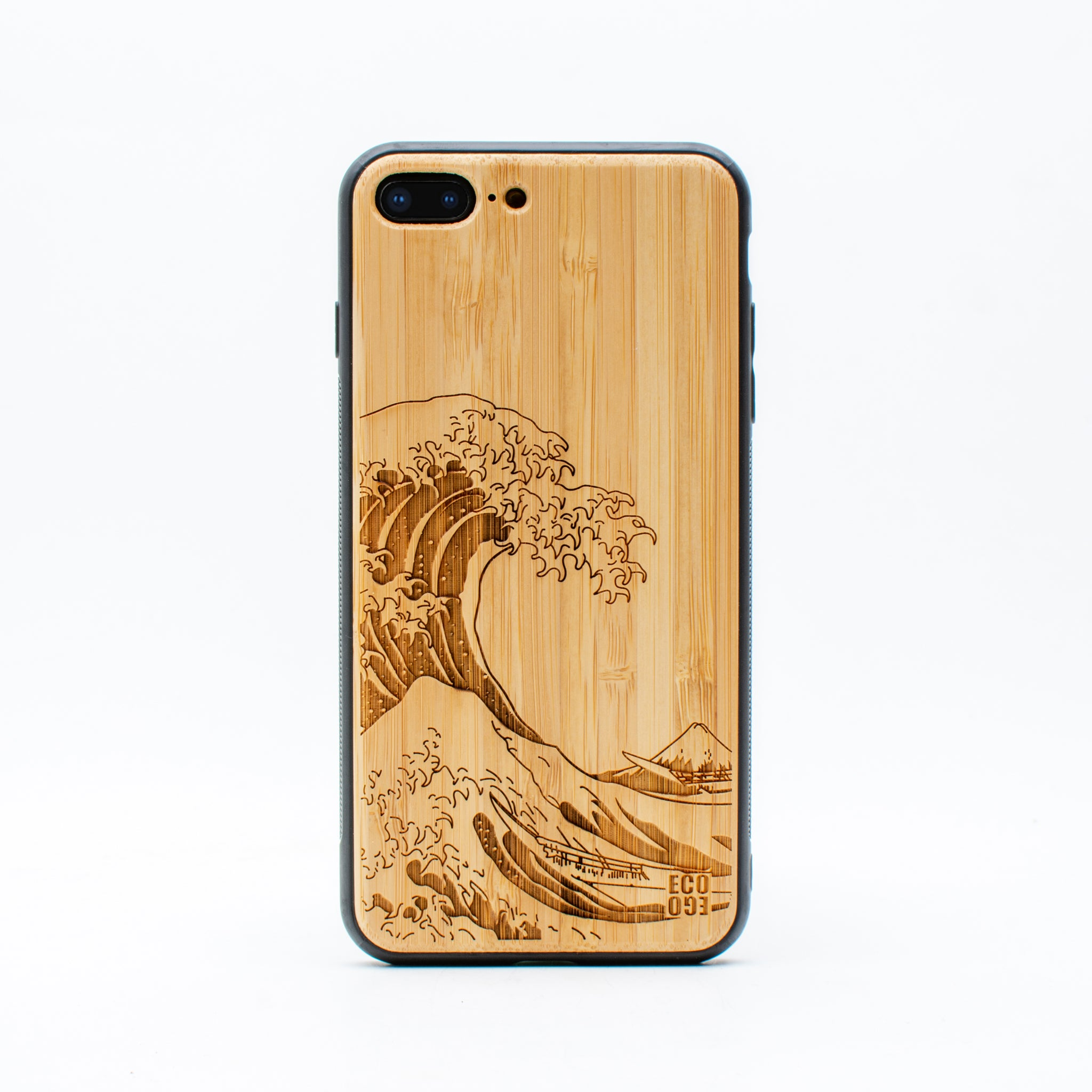 bamboo iphone 7+ case nami ecoego