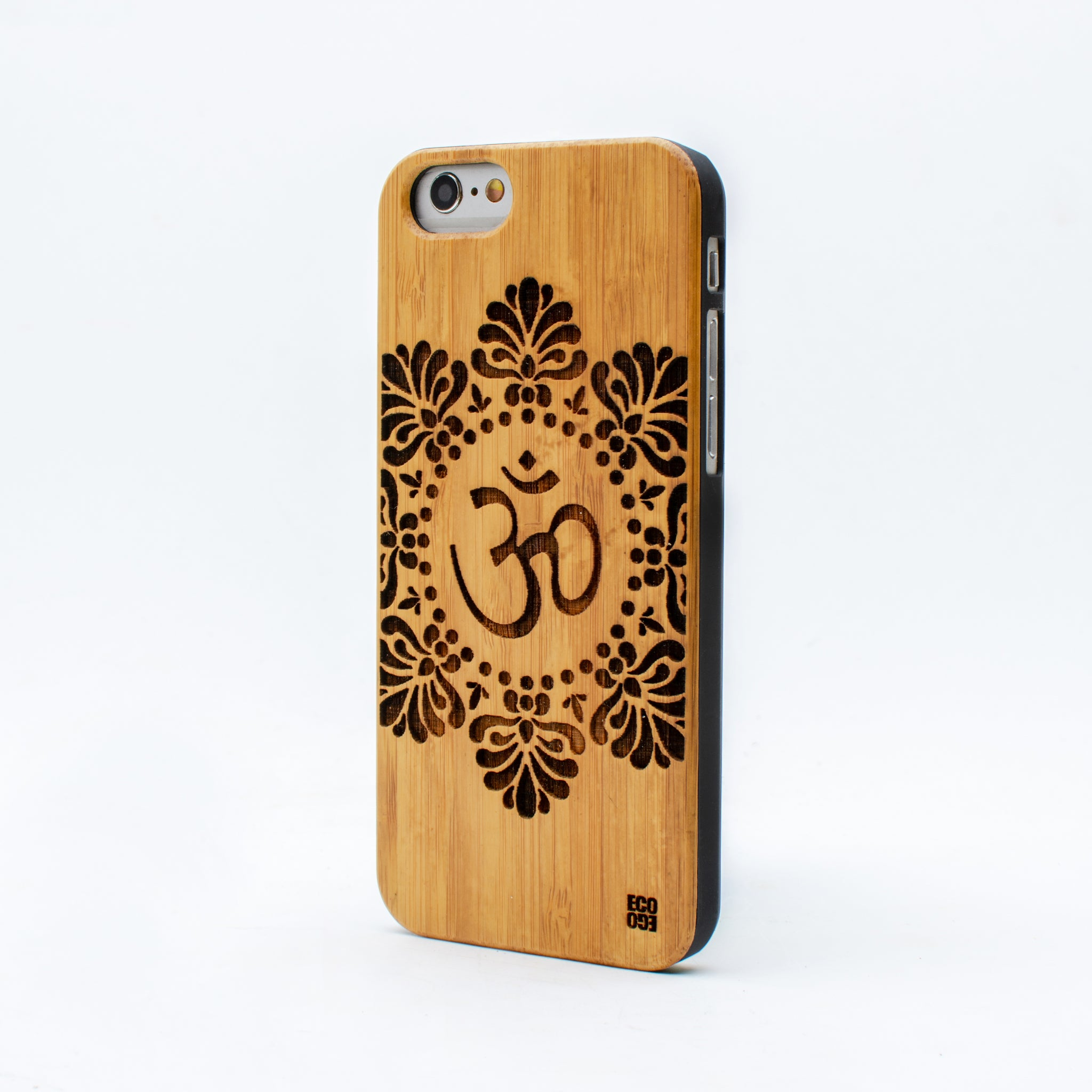 bamboo iphone 6 case om symbol ecoego
