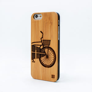 bamboo iphone 6 case surf bike ecoego