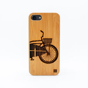 bamboo iphone 7 case surf bike ecoego