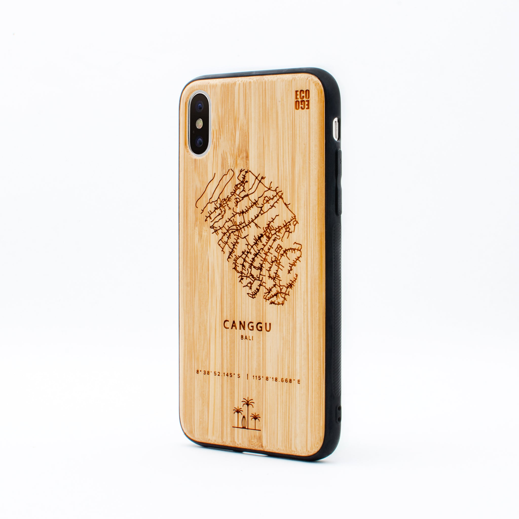 bamboo iphone x case canggu ecoego