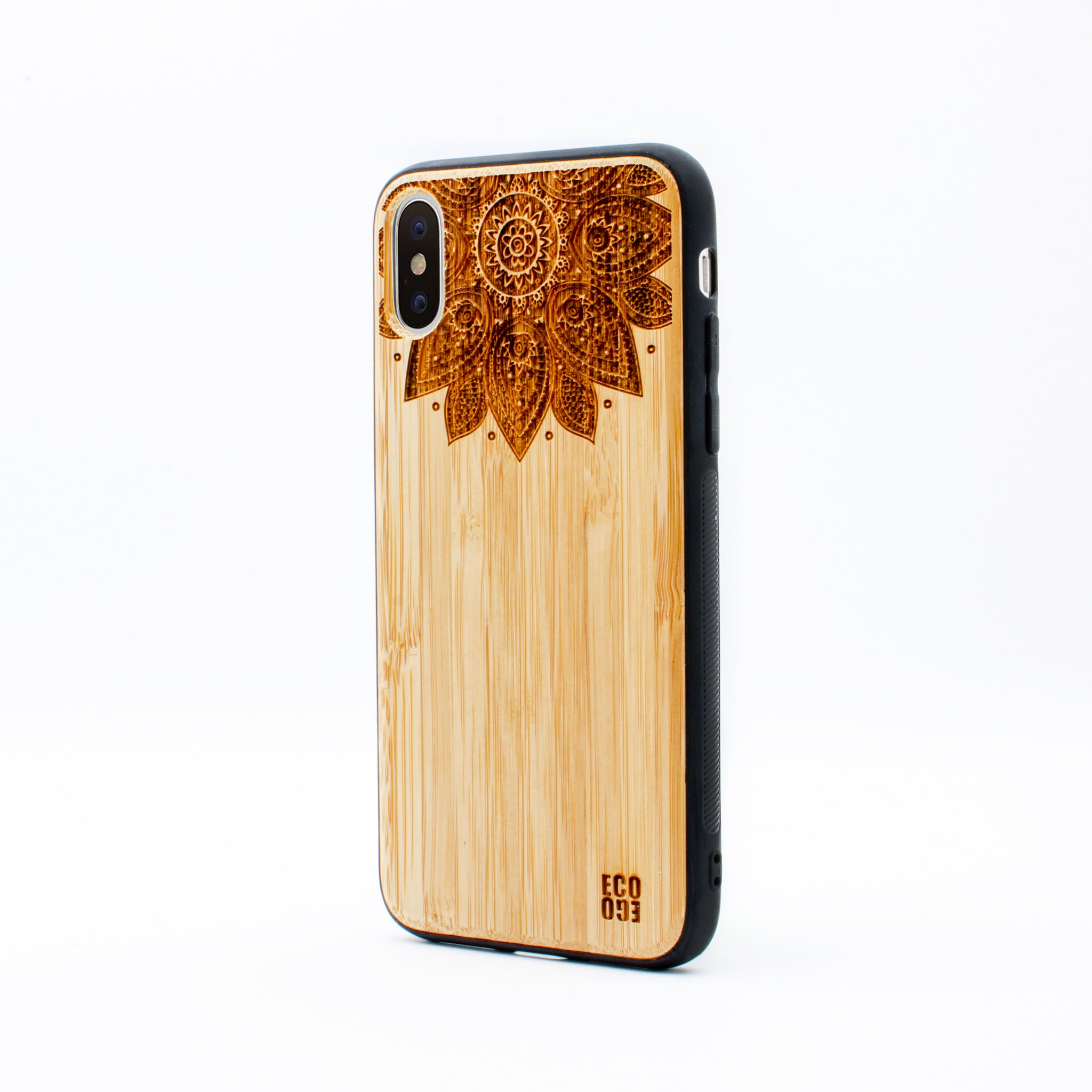 bamboo iphone x case lotus ecoego