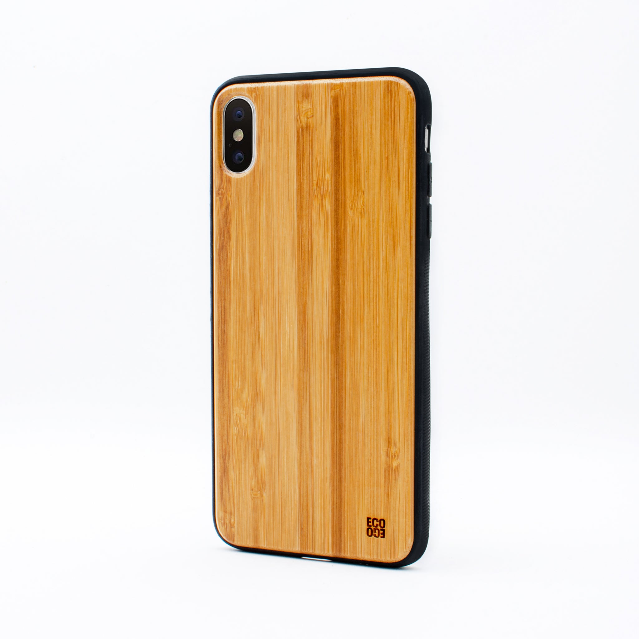 bamboo iphone x max case bamboo plain ecoego