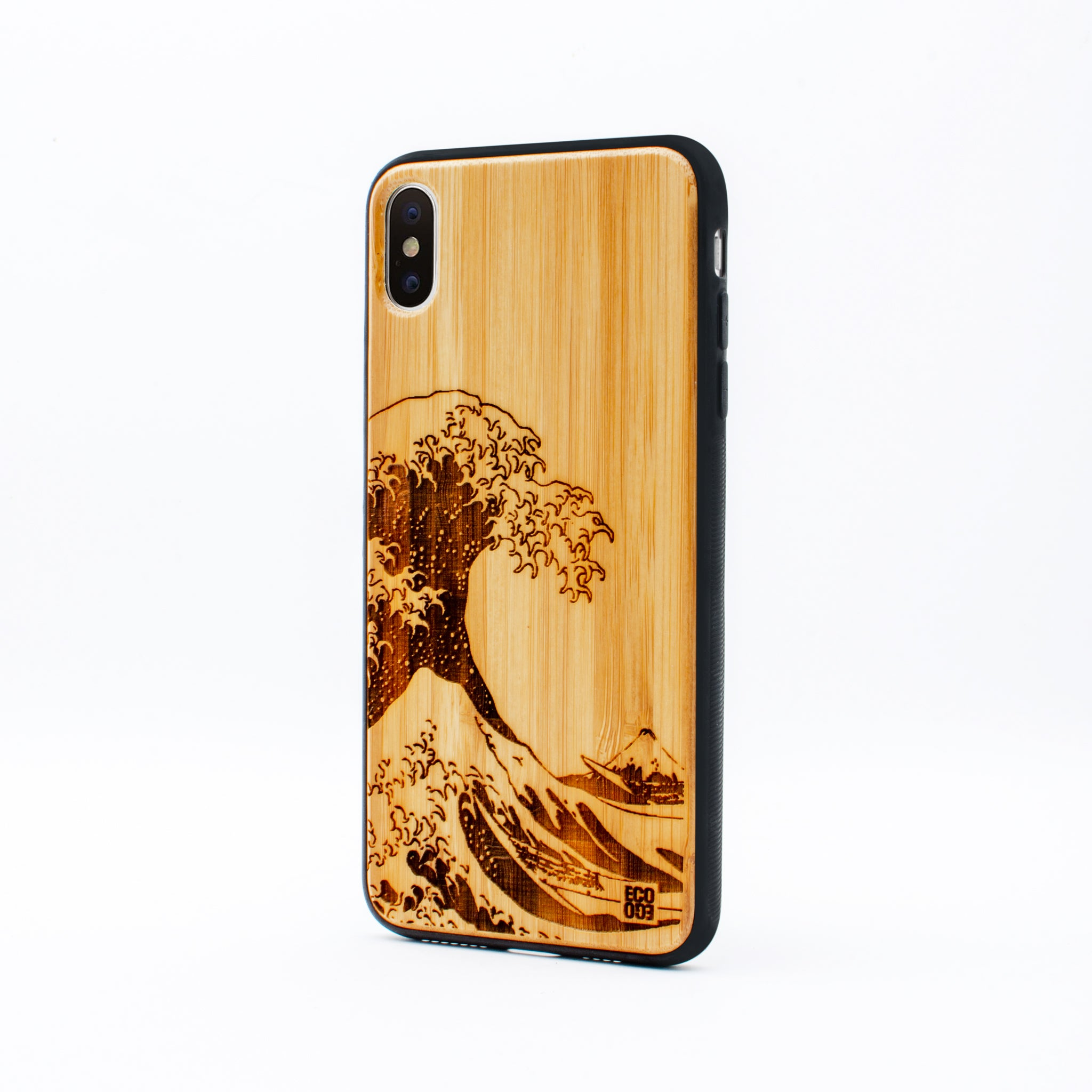 bamboo iphone x max case nami ecoego