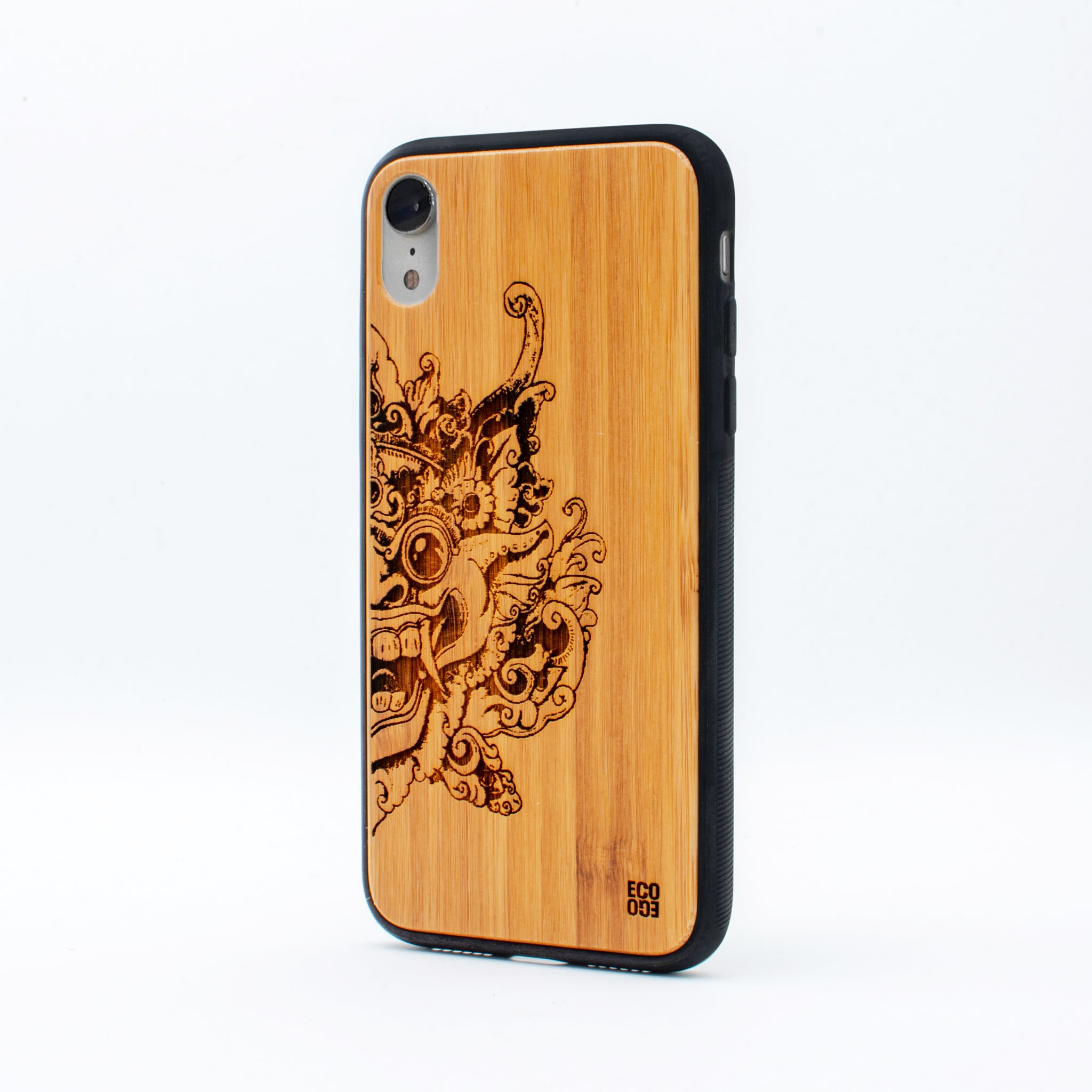 bamboo iphone xr case barong ecoego
