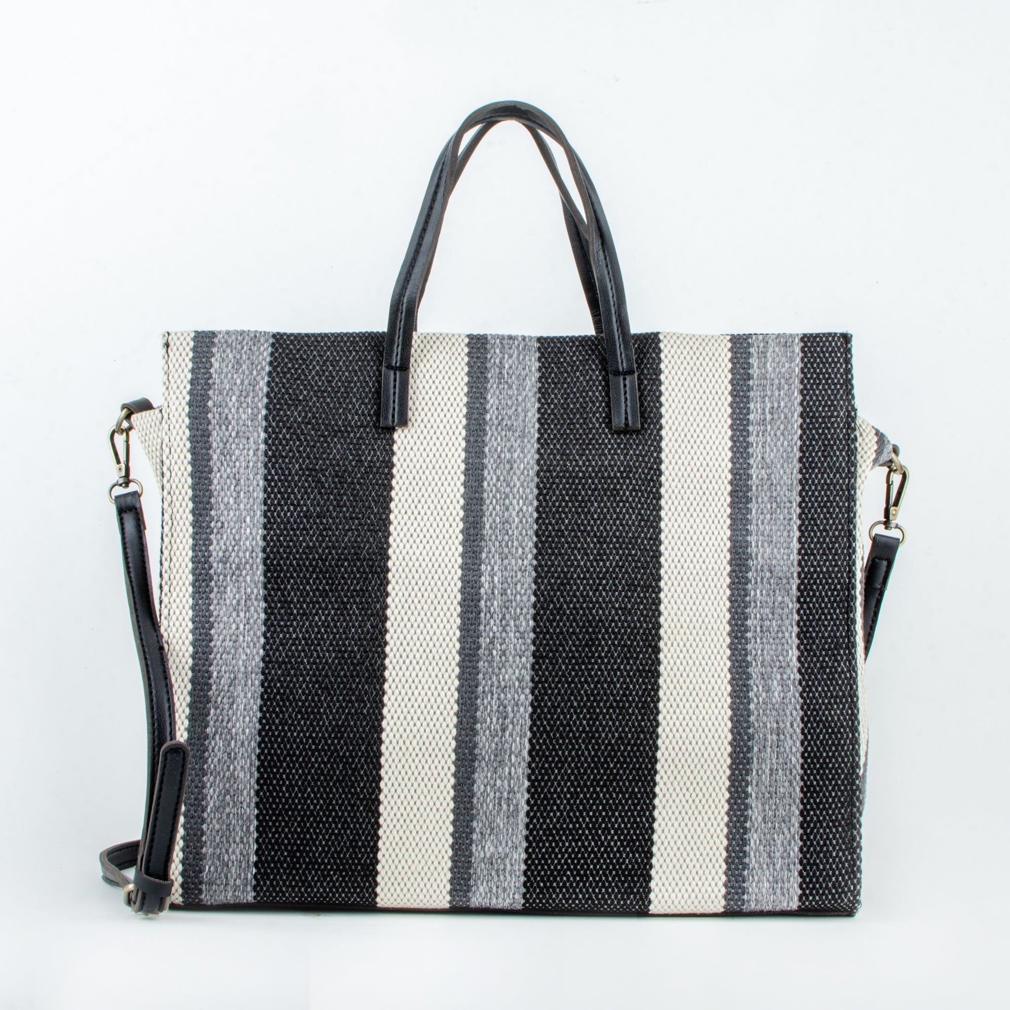 canvas bag odele black ecoego