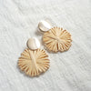 rattan earring virgin2 ecoego