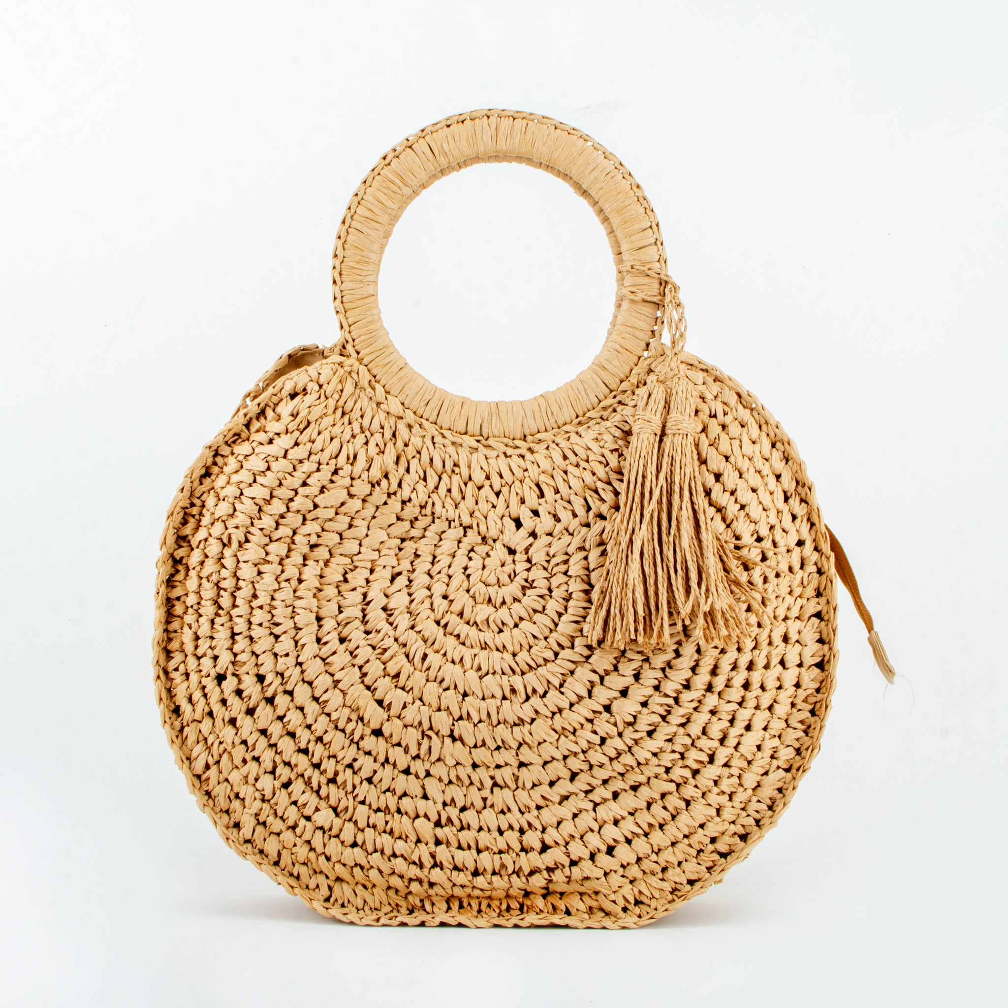 straw bag gayatri brown ecoego