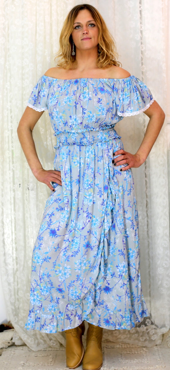 Nina Dress Japanese Flower