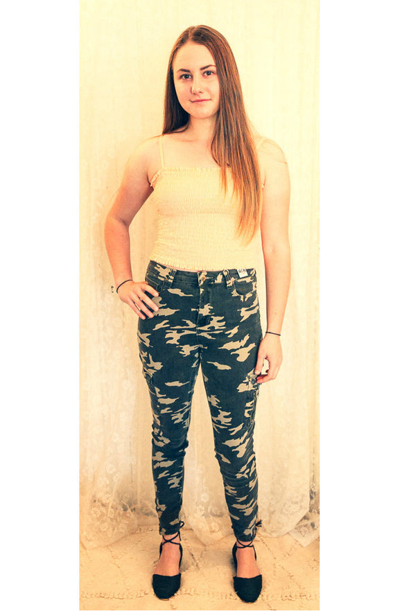 Refuge Denim Camo Jeans