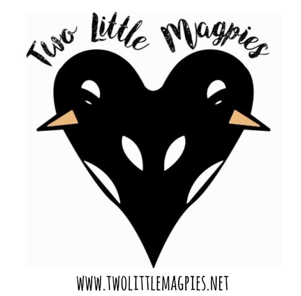 Two little magpies