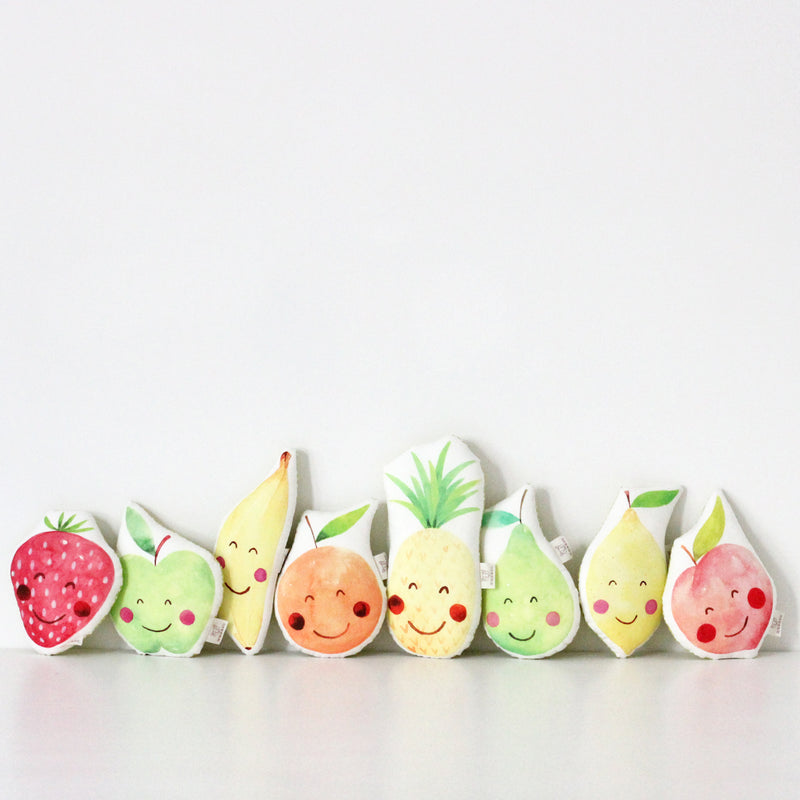 APPLE BABY RATTLE