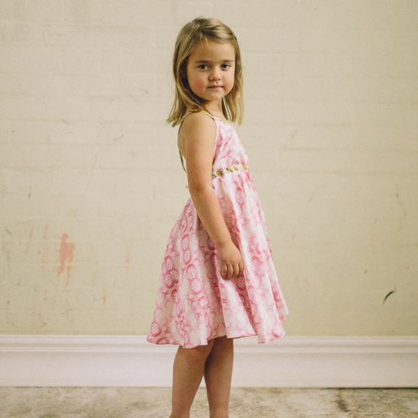 GLADYS DRESS - ROSE